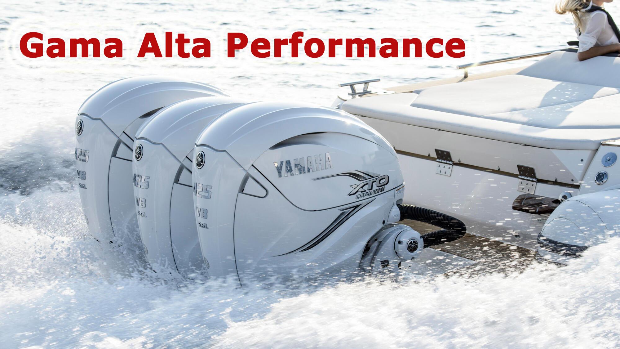 Gama Alta performance YAMAHA
